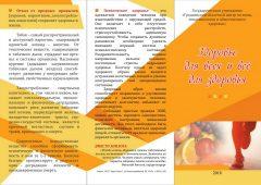 Буклет здоровье для всех