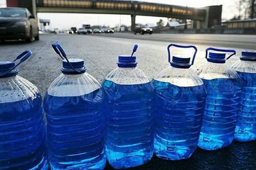 О запрете стеклоомывающих жидкостей